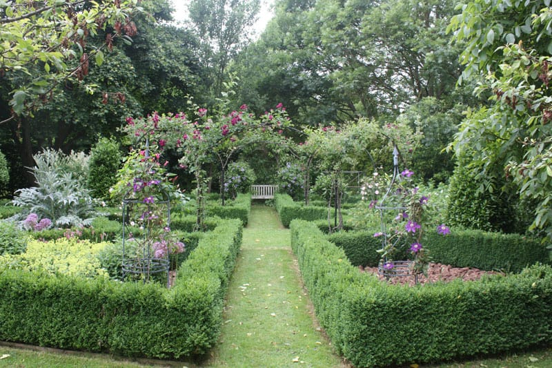 Maintained Rose Garden